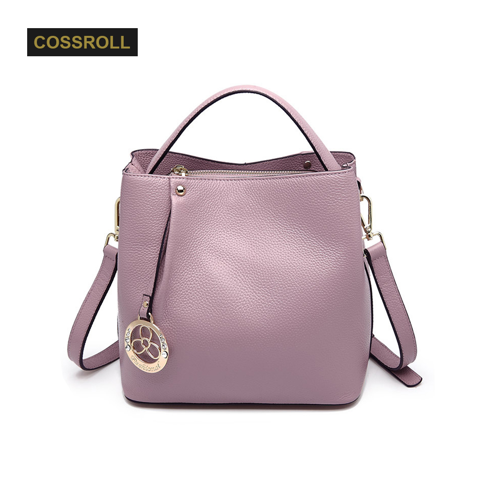 Designer Genuine Leather Bags Ladies Famous Brand Women Handbags High Quality Tote Bag for Women Fashion Bucket bag for Girl