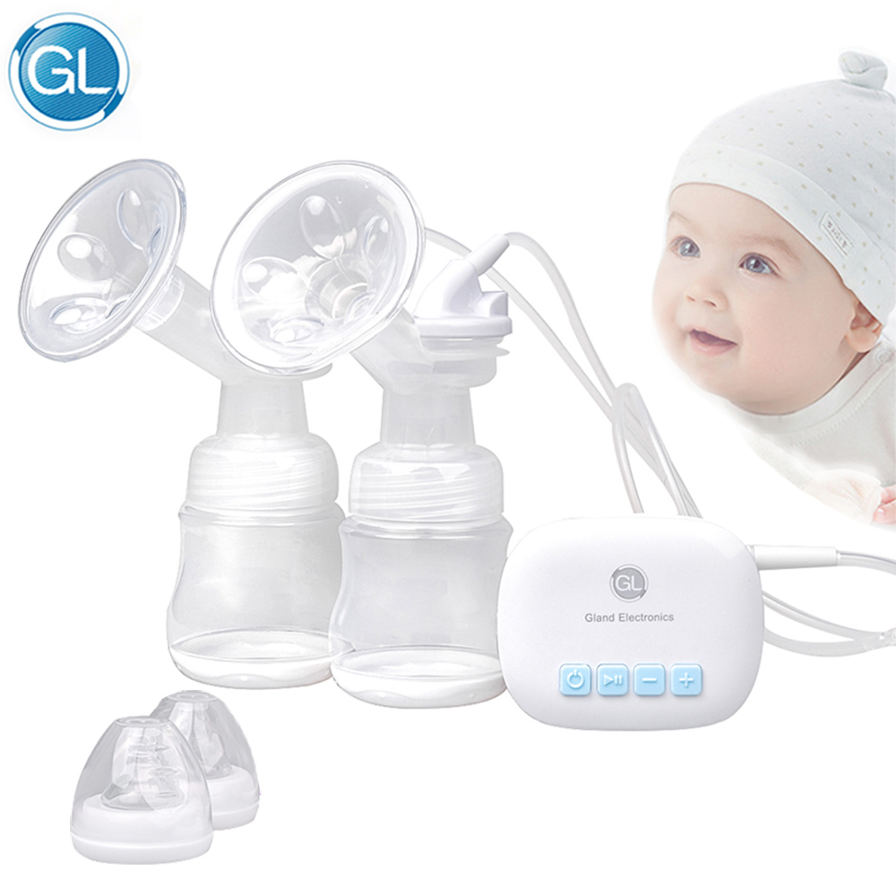 Gl Portable Electric Double Breast Pump Automatic -7572