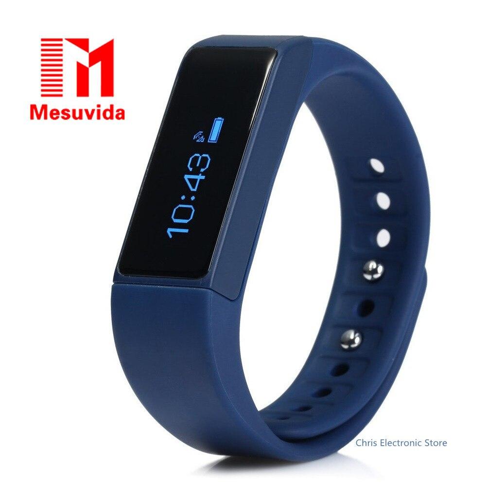 imágenes para Mesuvida I5 Más Inteligente Pulsera Bluetooth 4.0 Pantalla Táctil A Prueba de agua Gimnasio Rastreador Salud Sleep Monitor Del Reloj Del Deporte