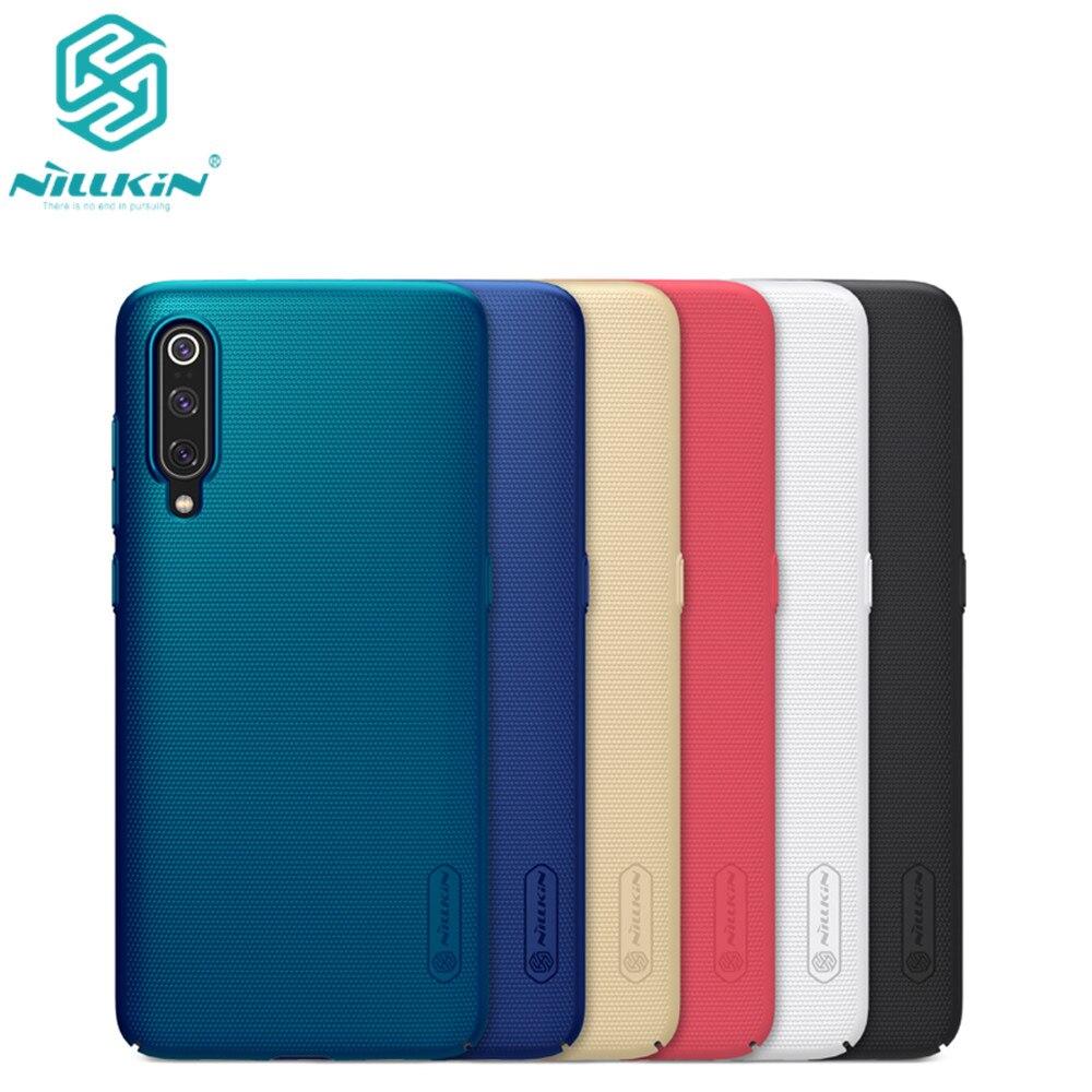 10pcs lot wholesale Nillkin Super Frosted Shield Case For Xiaomi mi9 mi 9 PC Hard Back