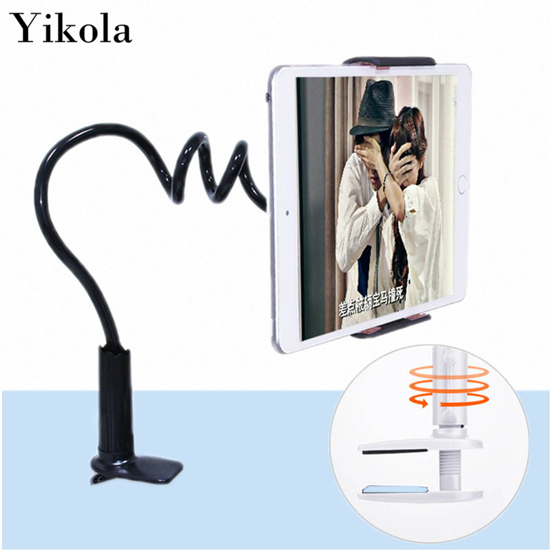 5pcs Flexible Tablet Holder Rock 360 degree Arm table pad stand 70 cm Long Lazy People Bed Desktop tablet mount for ipad mini