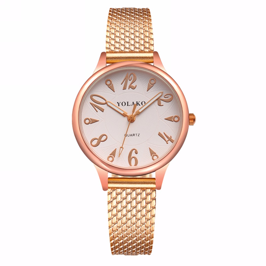 Shellhard 8 Colors Luxury Simple Watch Womens Analog Quartz WristWatch PVC Plastic Mesh Band Gril Student Gift Watches