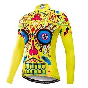 Image 5 - 2020 Ciclismo Jersey mtb Bici Jersey Shirt Maglia A Manica Lunga Vestiti di Riciclaggio Della Bicicletta Vestiti Ropa Maillot Ciclismo Anti Uv Rosa
