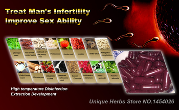 Formula to Cure Infertility for Men, Increase Live Sperm Quantity, Extend Sperm Life, Help Sperm-Egg Insemination, 50 pcs/lot