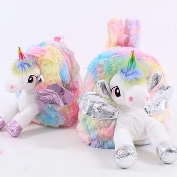 Tas Ransel Anak Boneka Unicorn  1