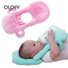 OLOEY держатель для детской бутылочки, подушка для кормления, для младенцев, для самостоятельного кормления, рука, хлопок, для детей, для кормления молока, бутылка для грудного вскармливания, стойка