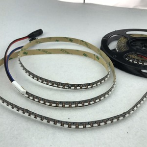 Image 5 - 3m/roll 144LEDs/m DC5V SK6812 4020 side emitting addressable led flexible strip;non waterproof;IP33;black pcb