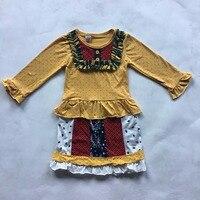 CONICE NINI Brand New Design Baby Girls Yellow Polka Dot Dress Toddler Patchwork Remake Children S