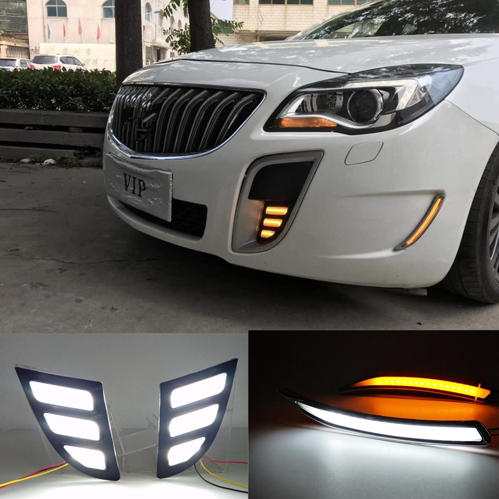 Buick Regal Gs For Sale: Aliexpress.com : Buy Car Flashing 2PCS LED DRL Daytime