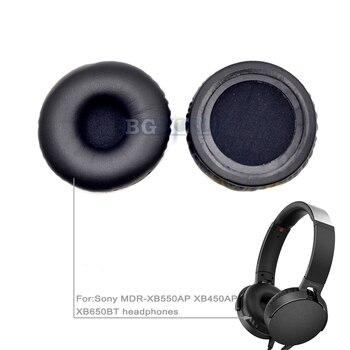 New cushion ear pads earpad foam earmuff pillow for Sony MDR-XB550AP XB450AP XB650BT headphones part headset sponge 72mm