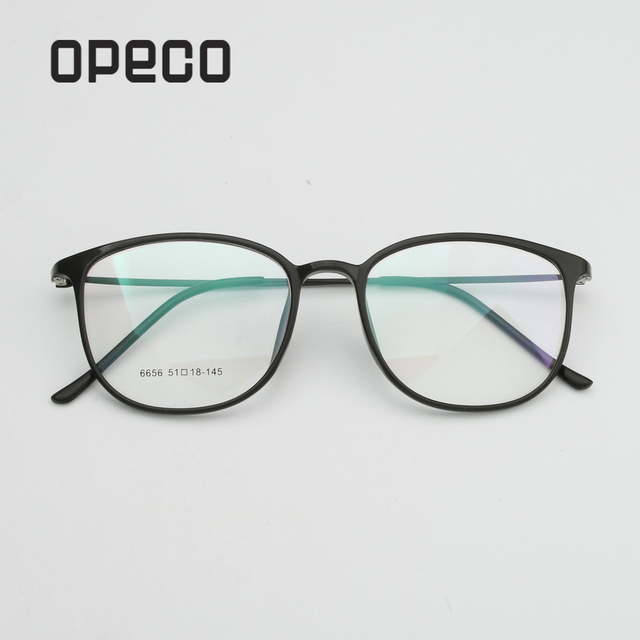 40d481a6175 Opeco oculos vintage myopia glasses TR90 light women s eyeglasses frame  eyewear prescription able recipe male spectacles