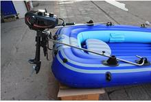 Hangkai Whhole sales 2 stroke 3.5HP outboard motor boat marine gasoline engine motor in stock