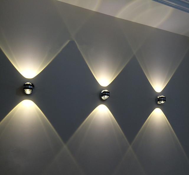 Yoga Studio Lighting Ideas: Crystal Wall Lamp TV Setting Wall LED Lamp Contemporary