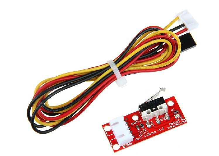 Freeshipping 3d printer Endstop mechanical limit switch RAMPS 1.4 endstop mechanical limit switches 3d printer switch for ramps 1 4 free shipping dropshipping