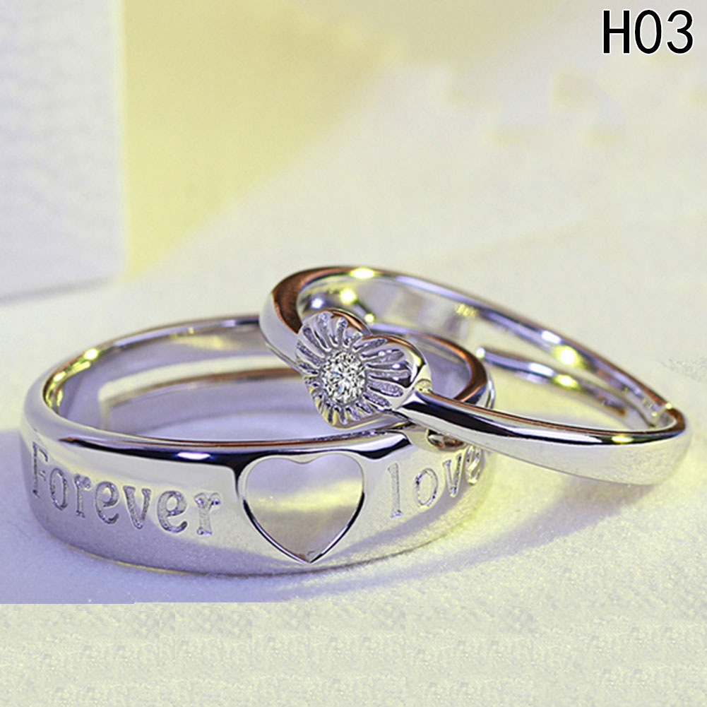 Fine Resizeable lovers' Ring