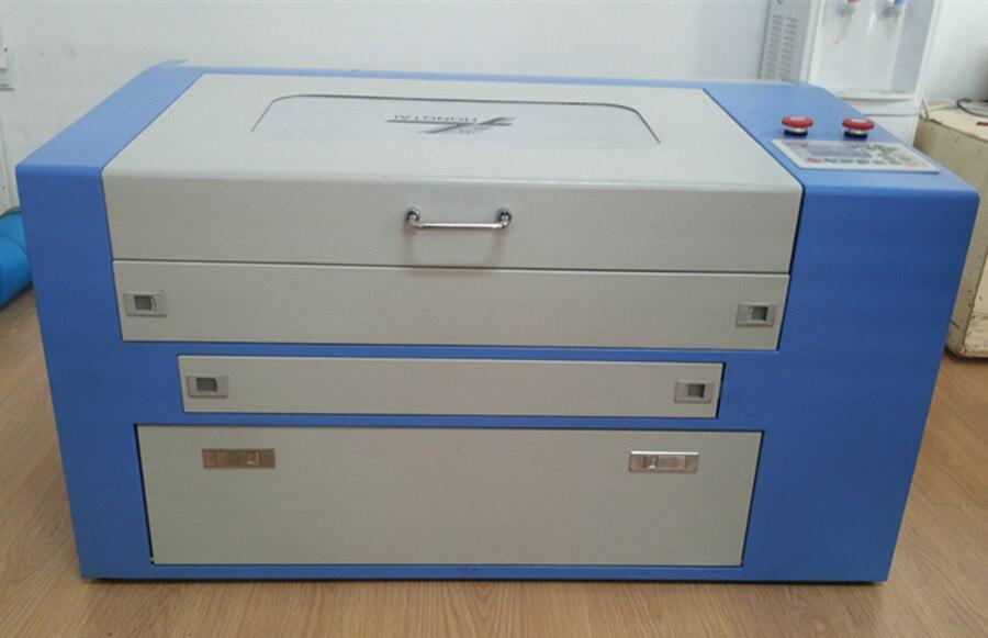 460 sistema de controle Ruida 6442 60 w gravação a laser máquina de corte para o acrílico madeira com cima e para baixo da tabela