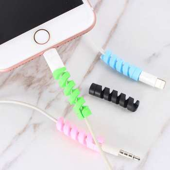 Earphones Accessories Mini USB Charger Cable For Huawei P20 Mate 10 Lite For Iphone 5 S SE 6 6S 7 8 Plus XR X XS Max Phone Cases image