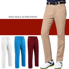Golf Sports pants men's Golf trousers spring autumn Breathable comfort golf straight pants Male Wear Solid Colors golf Sportswer new men pants golf sports trousers autumn all match korean slim long pants spring golf apparel 4 colors men brand golf pants