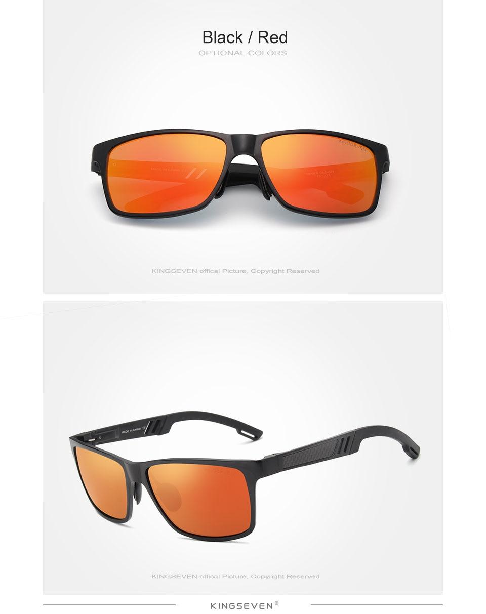HTB1ov0vfffM8KJjSZPfq6zklXXa5 - KINGSEVEN Men Polarized Sunglasses Aluminum Magnesium Sun Glasses Driving Glasses Rectangle Shades For Men Oculos masculino Male