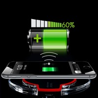 Wireless Charger For IPhone 6S 6 Phone Accessory Easy Use Charging Bank Removeable Power Pad Charging
