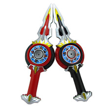 prettyangel genuine bandai tamashii nations s h figuarts exclusive ultraman orb ultraman orb thunder breastar action figure Ultraman Orb Sword Model Toys For Children Christmas Gifts LED Light Up Music Toys