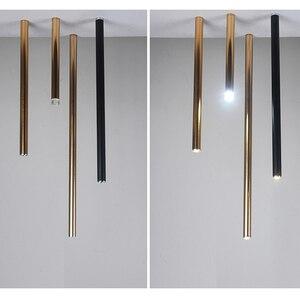 Image 5 - مصباح إضاءة LED بقطر ما بعد الحداثة 3 سنتيمتر بتصميم فني ضيق للسقف مصباح كهربائي 8 ألوان تزيين 6 خيارات للمقاسات