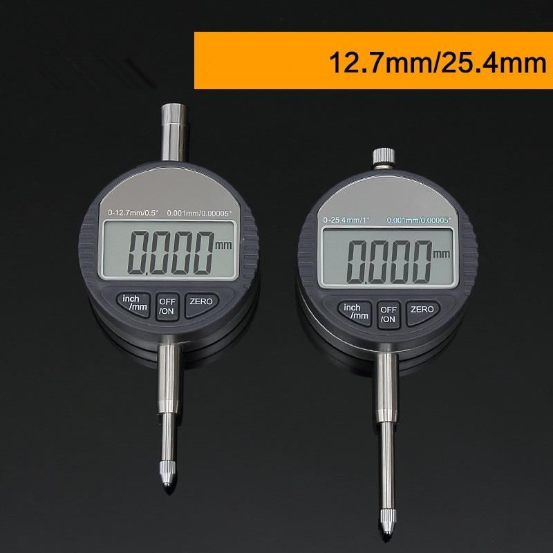 Dial Indicator Gauge Measuring Tools Electronic Micrometer Digital Micrometro Metric Inch 0 001mm 0 25 4mm