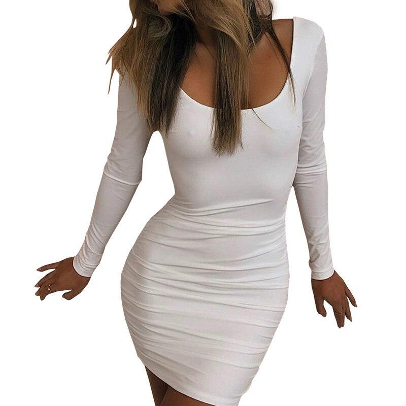 Estate 2018 new white lady pure color abito corsetto