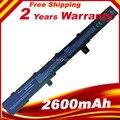 2600MAH Laptop Battery For Asus X451 X551 X451C X451CA X551C X551CA A41N1308 A31N1319 0B110-00250100 Series