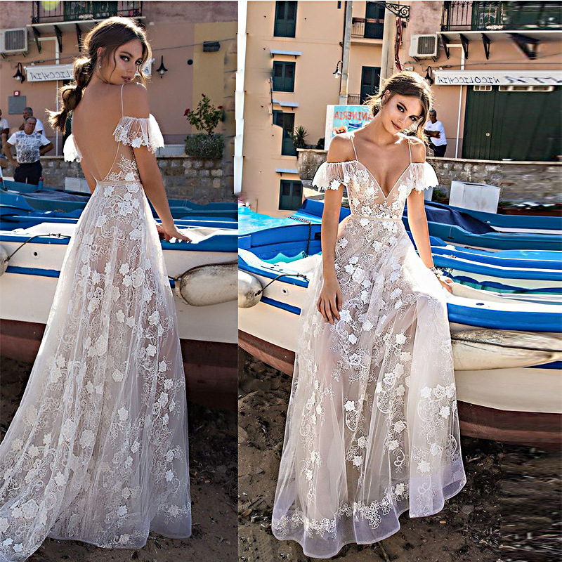 Flower Prom Dress 2018 New Elegant V Neck Off Shoulder Long Formal Party Gowns Sexy Backless Beach Maxi Dresses Vestidos Fiesta