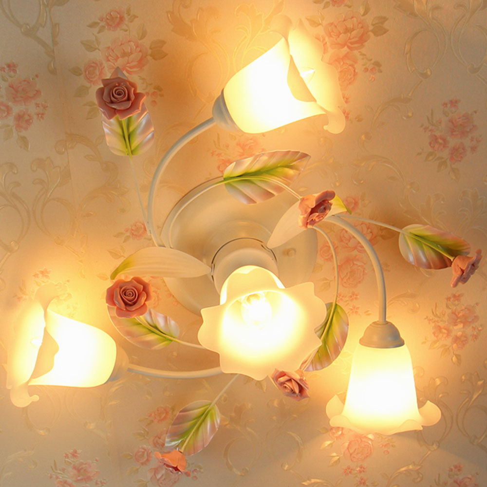 kids ceiling lighting. HGhomeart Bedroom Light Romantic Modern Led Ceiling Lights For Living Room Roses Kids Lamps 110V 220V Fixtures-in From Lighting