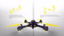 Original Hubsan H507A X4 Star Pro 720P Camera Wifi FPV RC Quadcopter Follow Me Mode Way Point GPS One-Key Return Selfie Drone