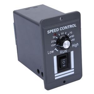 Image 2 - ШИМ регулятор скорости щеточного двигателя 12 60 В постоянного тока 40 А, ler CW CCW, реверсивный переключатель X1040 для управления и остановки вращения вперед/назад