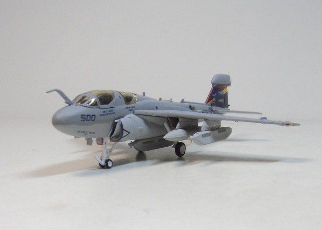 EA-6B PROWLER US 1:200 Navy Hogan US Navy fighter aircraft model