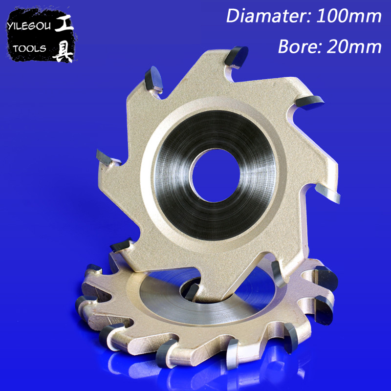 100mm 8 Teeth TCT Grooving Bit 6 Teeth Slotting Cutter 4