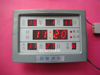 Digital Electronic Clock Electronic Calendar KIT Parts Kit DIY Power Supply Parts