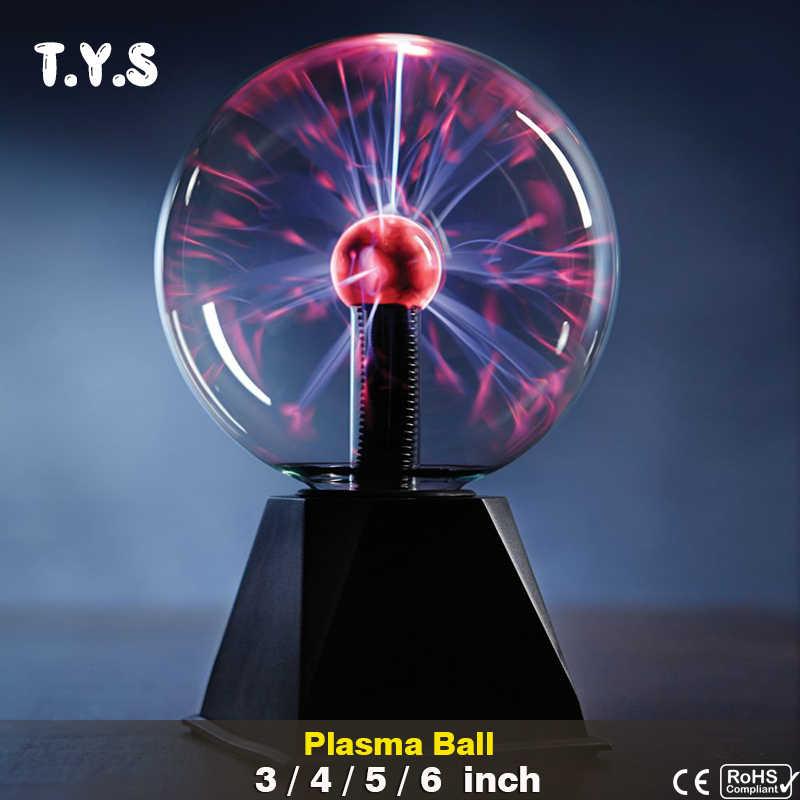 Сенсорный сенсор Сферический магический плазменный шар новинка, со стразом лава лампа креативный свет Выпускной ребенок Декор ко дню рождения подарок ночное освещение