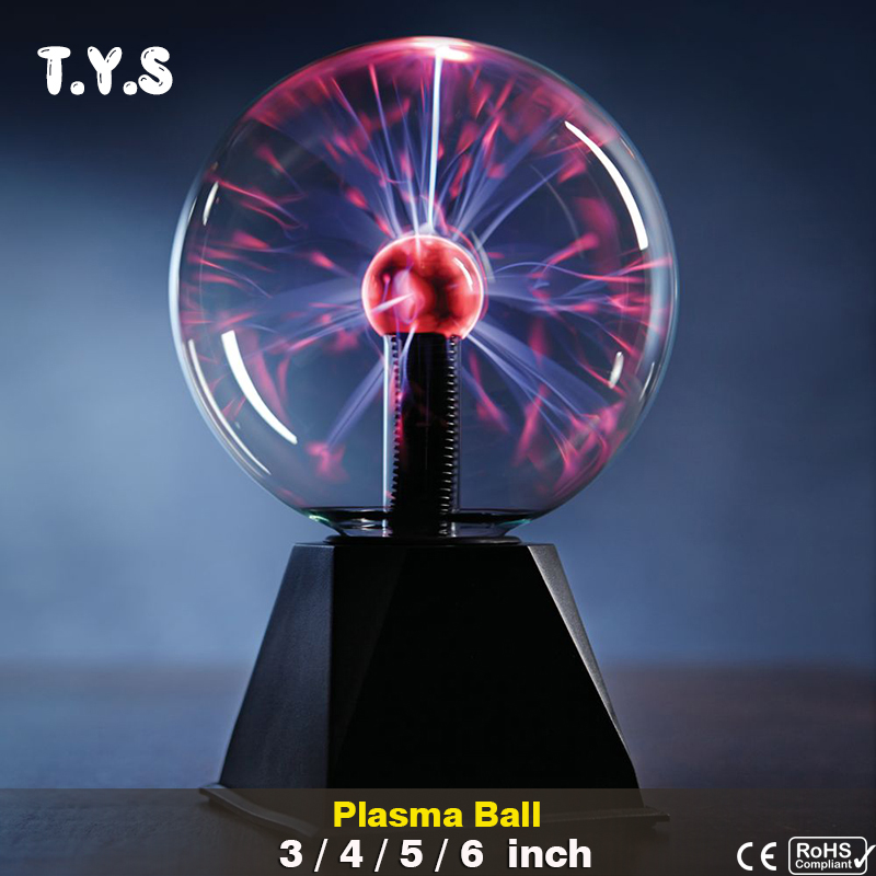 цена на Touch Sensor Sphere Magic Plasma Ball Novelty Crystal lava lamp Creative light Graduation Kid Birthday Decor Gift Night Lighting