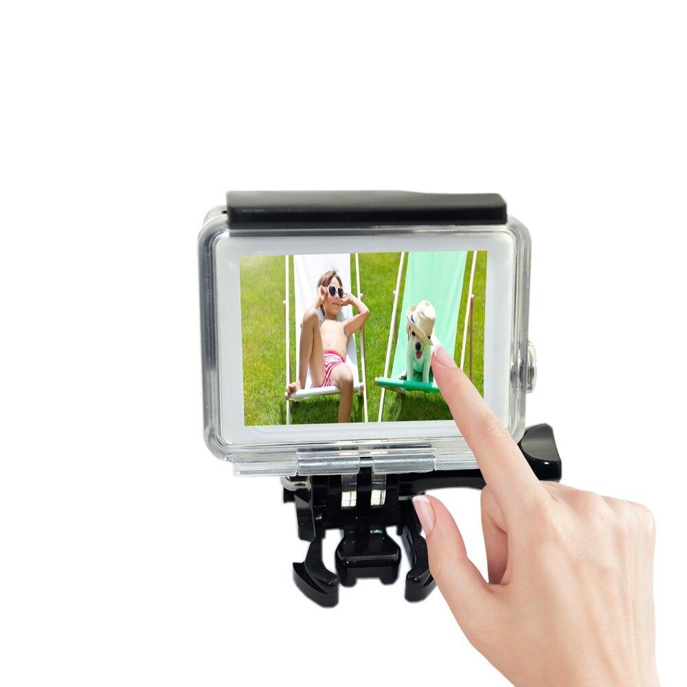 Gopro Hero 4 sensor ekranlı qoruyucu qutu üçün xanım - Kamera və foto - Fotoqrafiya 2