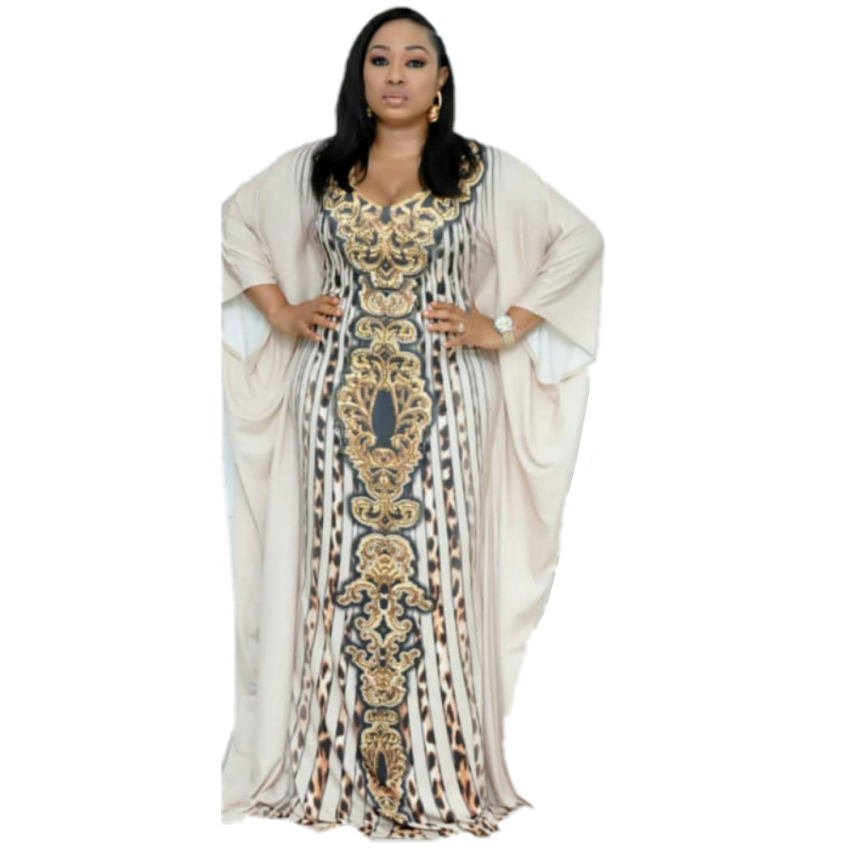 Length 152cm Bust 104cm African Dresses For Women Africa Clothing Muslim Long Dress Length Fashion African Dress For Lady