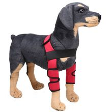 Dogs Supplies 1Set Dog Elbow Protector Extra Supportive Dog Canine Rear Leg Hock Joint Wrap Protects Wounds
