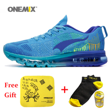 2016 Onemix Air Cushion Sneaker Original Zapatos De Hombre Male Athletic Outdoor Sport Shoes Men Outdoor Running Shoe Size 35-46
