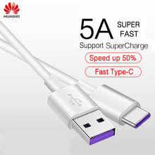 HUAWEI Original USB 5A Type C Cable USB 3.1 Type-C HUAWEI P10 Plus P20 MATE 9 10 20 X Pro Lite Cables Super Quick Charger Cable(China)