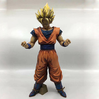 32cm Dragon Ball Z Banpresto ROS Resolution Of Soldiers Grandista Collection Figure Super Saiyan Son Goku Gokou EN0