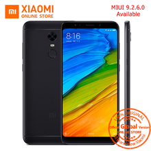 Global Version Xiaomi Redmi 5 plus 5.99 inch Full Screen Smartphone Redmi5 3GB 32GB Snapdragon 625 Octa Core 4000mAh MIUI 9.2.6(China)
