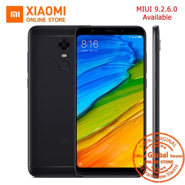 Global Version Xiaomi Redmi 5 plus 5.99 inch Full Screen Smartphone Redmi5 3GB 32GB Snapdragon 625 Octa Core 4000mAh MIUI 9.2.6