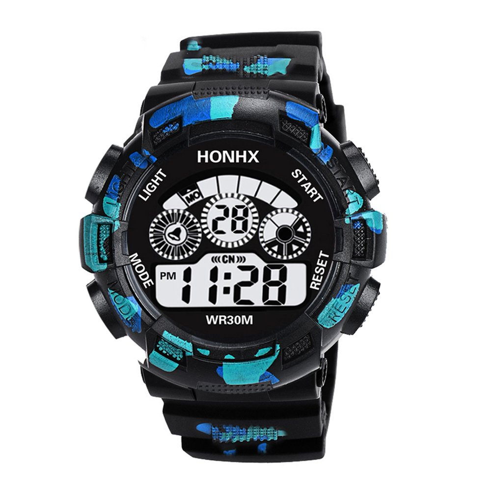Back To Search Resultswatches Fashion Mens Led Digital Watch Alarm Date Rubber Waterproof Army Sport Watch Wristwatch Saat Erkekler Clock For Dropshipping