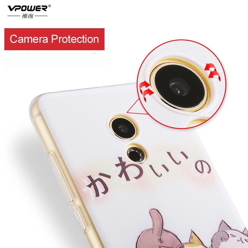 Meizu M5 Note Case Cover Vpower 3D Relief Luxury Soft - Reservdelar och tillbehör för mobiltelefoner - Foto 3