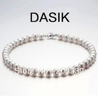 hot sell new S1136 DASIK Natural Real Pearl Necklace Luxury Jewelry Beautiful Pearls High Quality! 5.2