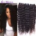 3PCS Ali moda hair brazilian virgin hair deep curly Virgin Brazilian curly hair Unprocessed human hair weave brazilian deep wave
